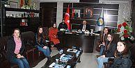 KTÜ Araklı'dan Başkan Çebi'ye Ziyaret