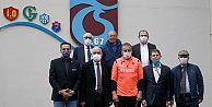 Kurul Başkanları, Abdullah Avcı'yı ziyaret etti.