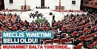 Meclis yönetimi belli oldu! Muhammet Balta yönetimde....