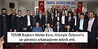 Metin Kara, Hüseyin Öztorun'u ve yönetici arkadaşlarını tebrik etti...
