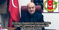 Ortahisar Gazeteciler Cemiyeti'inden Trabzon Gazeteciler Cemiyeti'ne Yargı Yoluyla Cevap