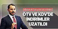 ÖTV ve KDV indirimleri uzatıldı...