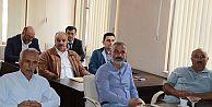 Recep Çebi, Ekim ayı meclis toplantısında devam eden projelere ilişkin açıklamalarda bulundu.