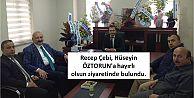 Recep Çebi, Hüseyin ÖZTORUN'ahayırlı olsunziyaretinde bulundu.