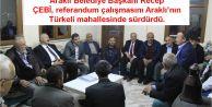 Recep ÇEBİ ve Ak Parti teşkilatı referandum çalışmalarını sürdürüyor...
