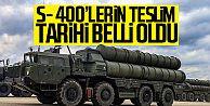Rusya'dan Türkiye'ye S-400'ler için tarih verdi