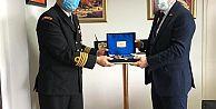 Sahil Güvenlik Doğu Karadeniz Grup Komutanı'na ziyaret...