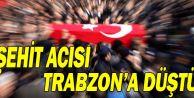 Şehit Acısı Trabzon Araklı'ya düştü!