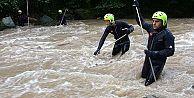 Sel Felaketinde Kaybolan 2 Vatandaşımızın Arama Çalışmaları Devam Ediyor
