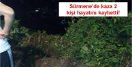 Sürmene'de Kaza İki Kişi Hayatını Kaybetti!