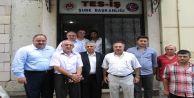(Tes-İş) Trabzon Şube Başkanlığında bugün bayramlaşma heyecanı yaşandı
