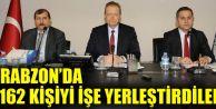 Trabzon'da 1162 Kişiyi İşe Yerleştirdiler...