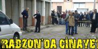 Trabzon'da Cinayet