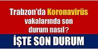 Trabzon'da koronavirüs vakaları patladı! İşte son durum