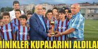 Trabzon'da minikler Kupalarını Aldılar