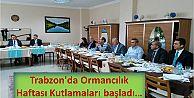 Trabzon'da Ormancılık Haftası Kutlamaları...