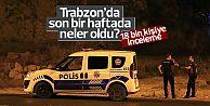 Trabzon'da son bir haftada neler oldu