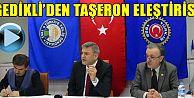 Trabzon'da Taşeron Eleştirisi
