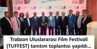 Trabzon Uluslararası Film Festivalinin tanıtımı yoğun katılım ile yapıldı...