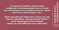 Trabzon Valisi Ustaoğlu, sokağa çıkma yasağıyla ilgili suistimaller olduğunu açıkladı.