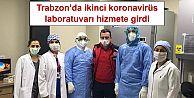 Trabzon'da ikinci koronavirüs laboratuvarı hizmete girdi