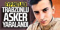 Trabzonlu astsubay yaralandı!