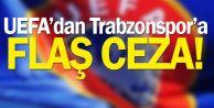 Trabzonspor'a , finansal fair play kriterlerine uymadığı gerekçesiyle ceza geldi.
