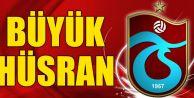 Trabzonspor'da Büyük Hüsran!