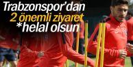 Trabzonspor'dan 2 önemli ziyaret