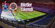 Trabzonspor-Sparta Prag maçının biletleri tükendi...