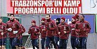 Trabzonspor'un kamp kadrosu belli odu