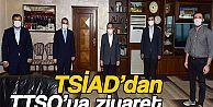 TSİAD Başkanı Sırrı Eren, Trabzon Ticaret ve Sanayi Odası'nı ziyaret etti.
