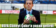UEFA Cüneyt Çakır'a yasak getirdi