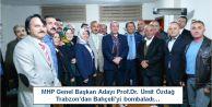 Ümit Özdağ  Trabzon'dan Bahçeli'yi bombaladı…