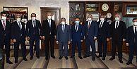 Vakıfbank Genel Müdürü Üstünsalih TTSO'yu ziyaret etti