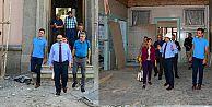 Vali Ustaoğlu, Restorasyon Çalışmalarını İnceledi