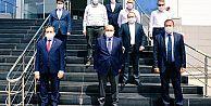 Valiİsmail Ustaoğlu, Arsin'de incelemelerde bulundu.