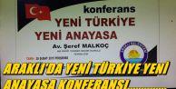 Yeni Türkiye yeni anayasa