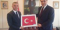 Yomra Belediye Başkanı Mustafa Bıyık, AKŞENER VE UYSAL'I ZİYARET ETTİ.