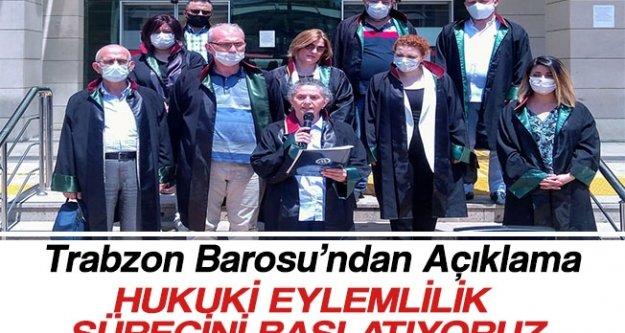 Trabzon Barosu'ndan Açıklama
