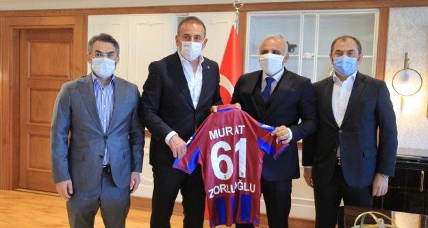 Trabzon Büyükşehir Belediye Başkanı Murat Zorluoğlu'na ziyaret