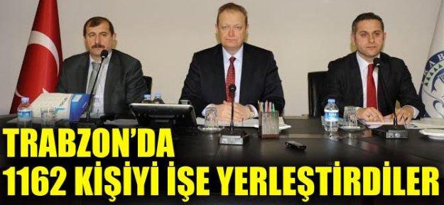Trabzon#039;da 1162 Kişiyi İşe Yerleştirdiler...