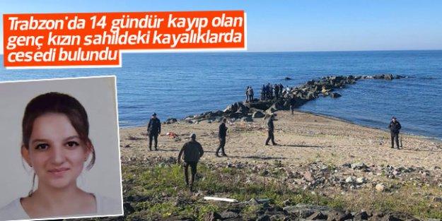 Trabzon'da 14 gündür kayıp olan genç kızdan kötü haber...