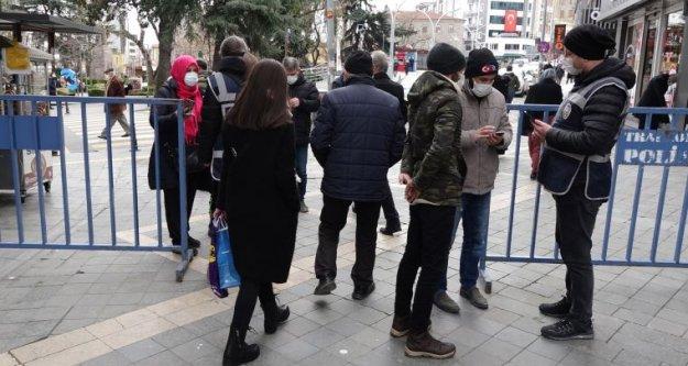 Trabzon'da 521 kişiye, 620 bin lira koronavirüs cezası!
