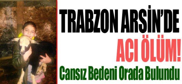 Trabzon'da Acı Ölüm!
