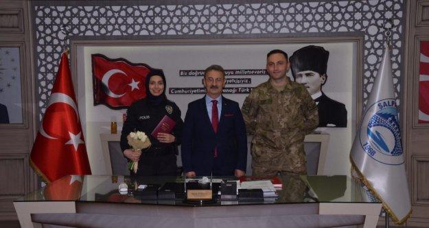 Trabzon'da biri Polis Memuru, diğeri ise Uzman Çavuş...