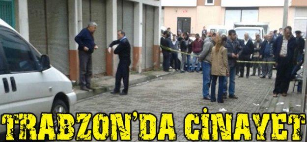 Trabzon#039;da Cinayet