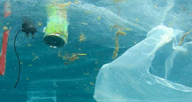 Trabzon'da denizdeki çöpler araştırılacak...