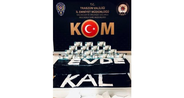 Trabzon'da Maskelere El Konuldu...