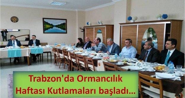 Trabzon#039;da Ormancılık Haftası Kutlamaları...